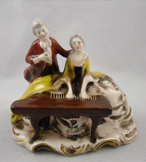 Rococo Couple At Piano