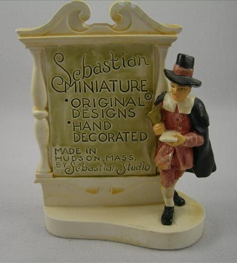 Sebastian Miniatures Dealer Plaque (Hudson)