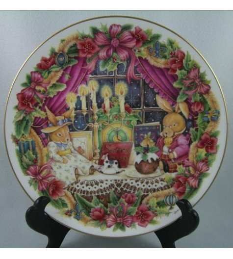 Seasons Greetings Plate