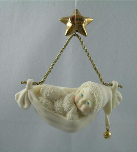Snowbabies Bundle Of Joy Ornament