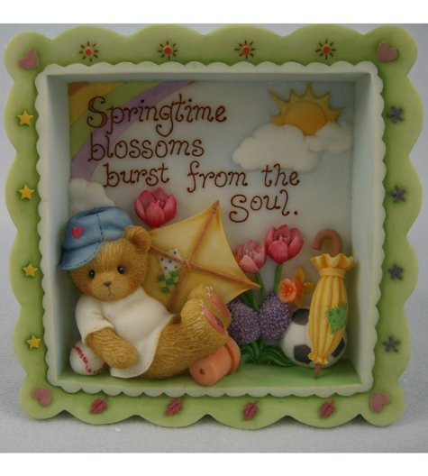 Springtime Shadow Box