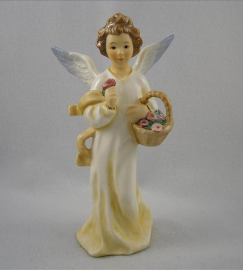 Summer Angel With Flower Basket