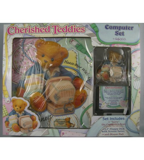 Cherished Teddies Computer Set (Terry)