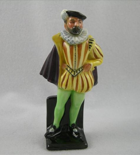 Man In Tudor Costume