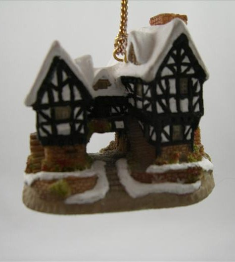 Tudor Manor House Ornament