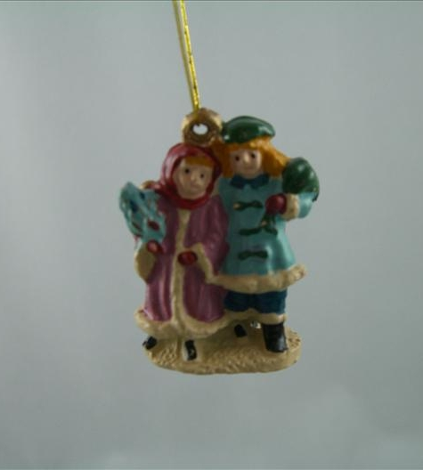 Victorian Duo Ornament