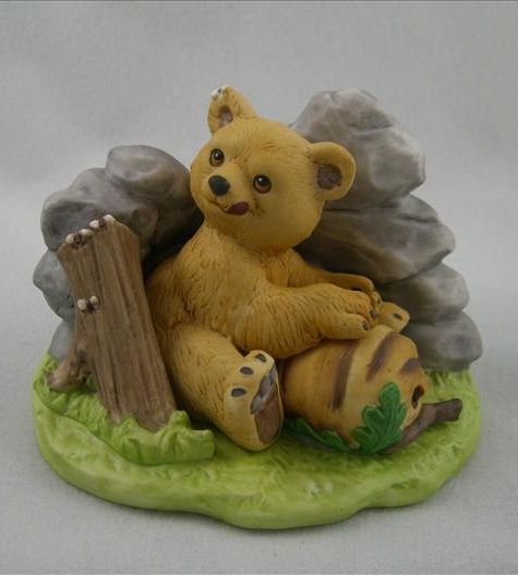 Woodland Surprises Bear