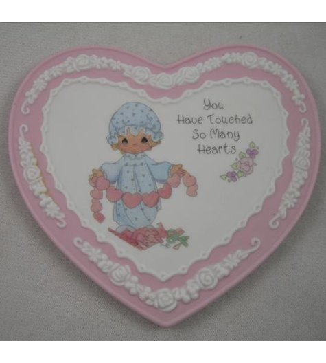 You Have Touched So Many Hearts Plaque